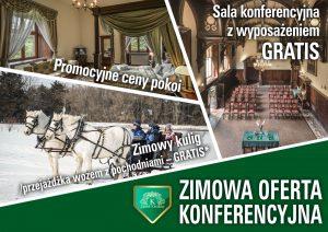 Zimowa oferta konferencyjna 2019 w Zamku Kliczków