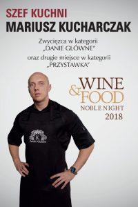 Zamek Kliczków Szef Kuchni Mariusz Kucharczak