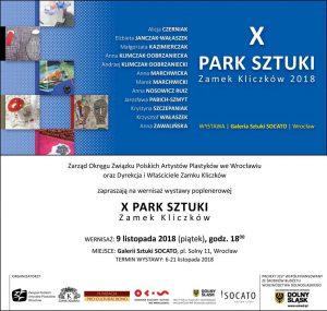 Park Sztuki X w Zamku Kliczków