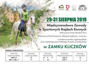 Międzynarodowe Zawody w Sportowych Rajdach Konnych Zamek Kliczków 2019