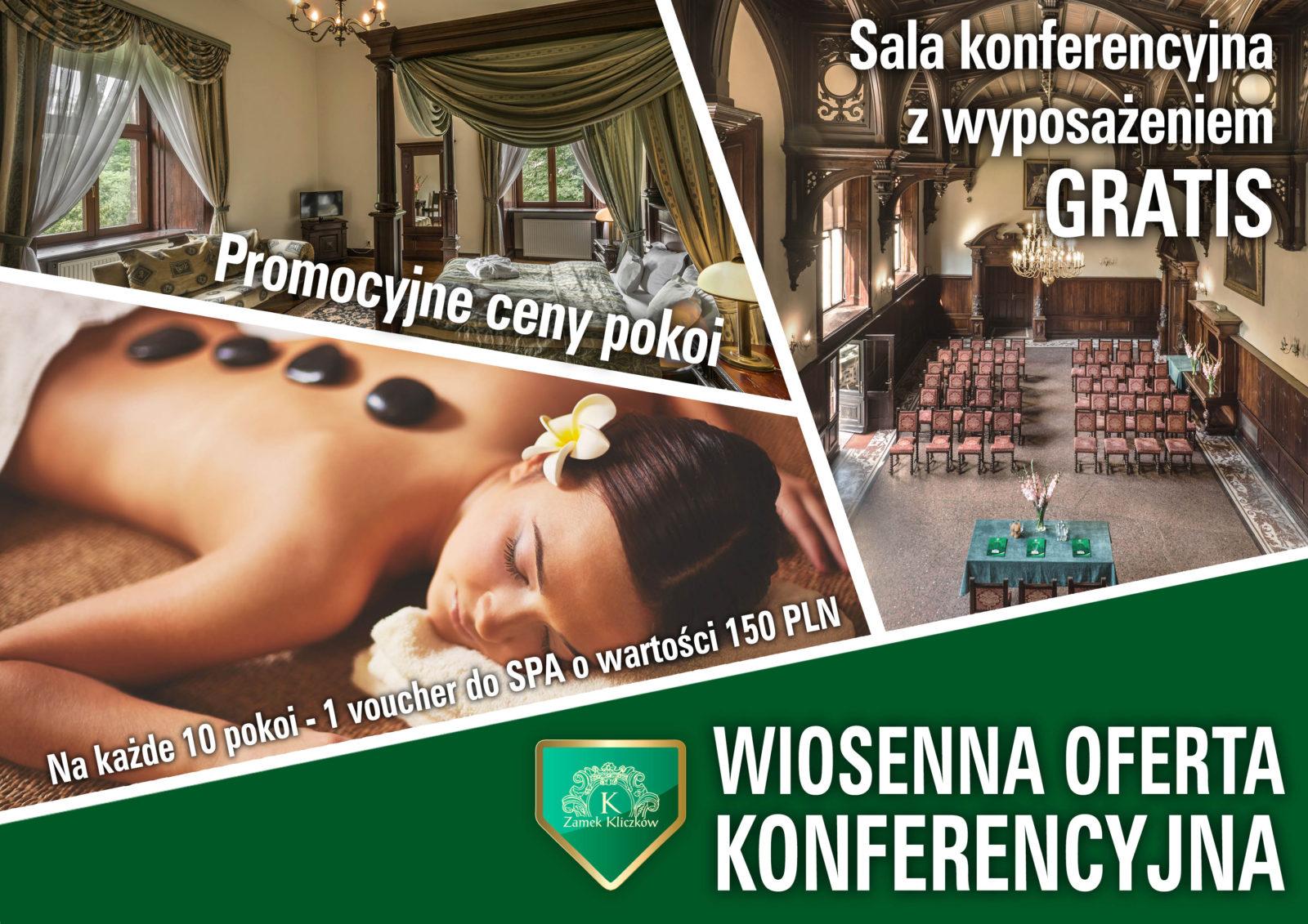 organizacja konferencji Wrocław - Zamek Kliczków