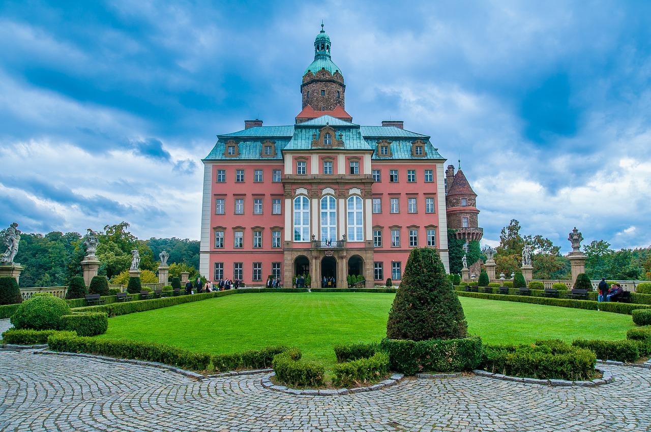 zamek książ - zamki dolny śląsk - zamek Kliczków